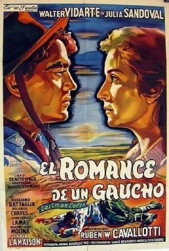 Poster of El romance de un gaucho