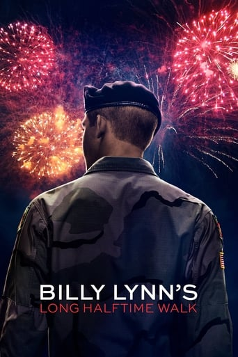 Poster of Billy Lynn's Long Halftime Walk