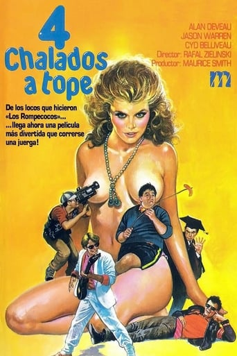 Poster of Cuatro chalados a tope