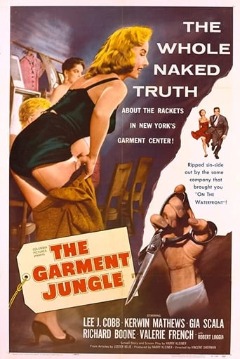Poster of The Garment Jungle