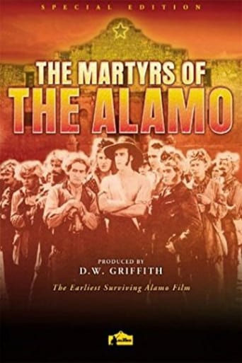 Poster of Martyrs of the Alamo