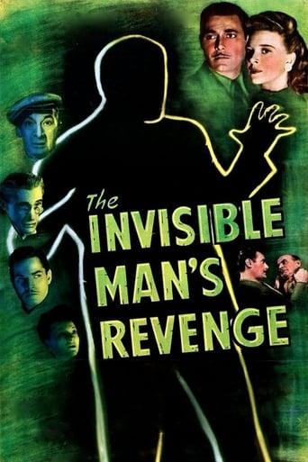 Poster The Invisible Man's Revenge