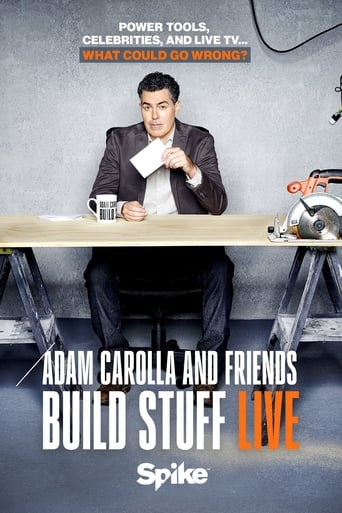 Poster of Adam Carolla and Friends Build Stuff Live