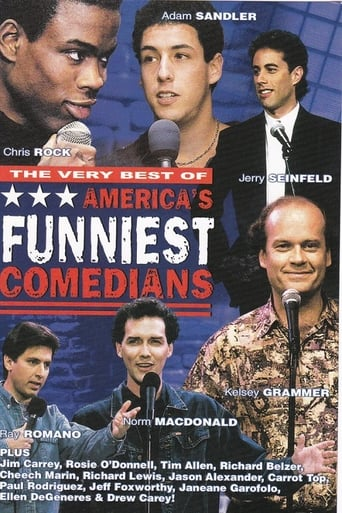Poster of The Very Best America's Funniest Comedians