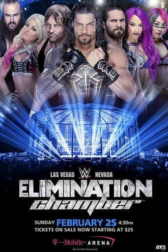 Poster of WWE Elimination Chamber 2018
