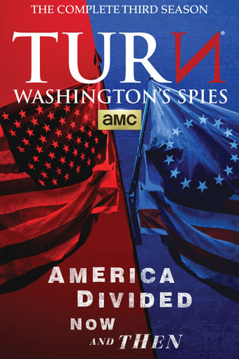 Posūkis / TURN: Washington's Spies (2016) 3 Sezonas EN