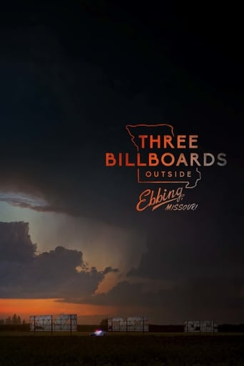 Official movie poster for Three Billboards Outside Ebbing, Missouri (2017)
