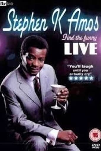 Stephen K. Amos: Find the Funny