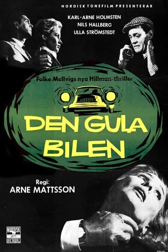Poster of The Yellow Car