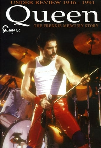Queen - Under Review 1946-1991: The Freddie Mercury Story poster