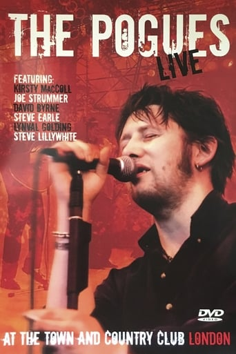 Poster of The Pogues: Live at the Town and Country Club London