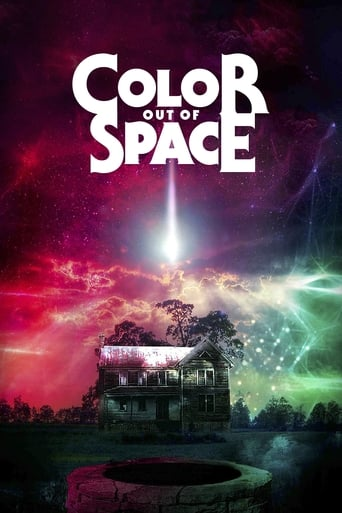 Color Out of Space (2019) - poster