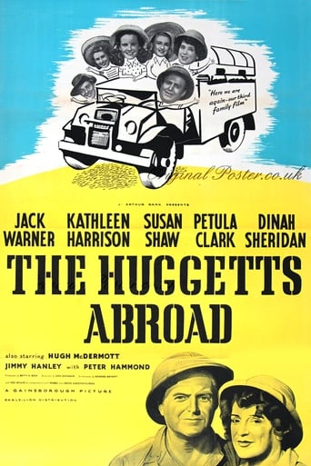Poster of The Huggetts Abroad