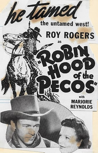 Poster of Robin Hood of the Pecos