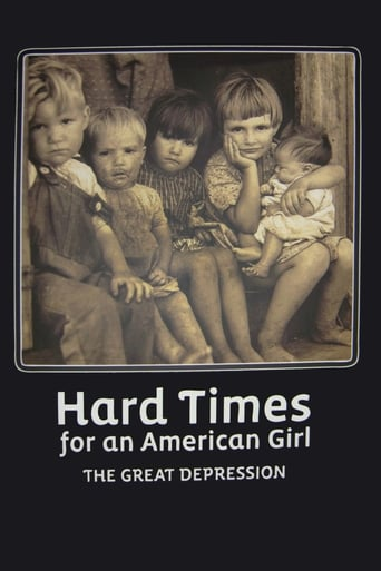 Hard Times for an American Girl: The Great Depression poster
