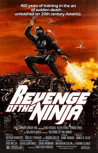 A Vingança do Ninja - Poster