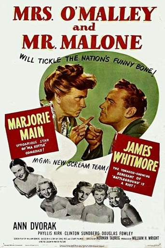 Poster of Mrs. O'Malley and Mr. Malone