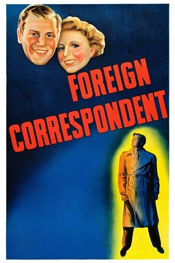 Foreign Correspondent (1940) - poster