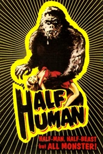 Poster of Half Human: The Story of the Abominable Snowman