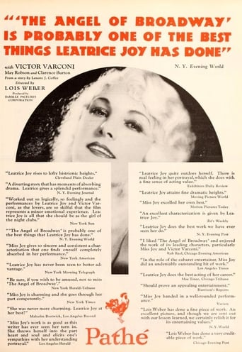 Poster of The Angel of Broadway