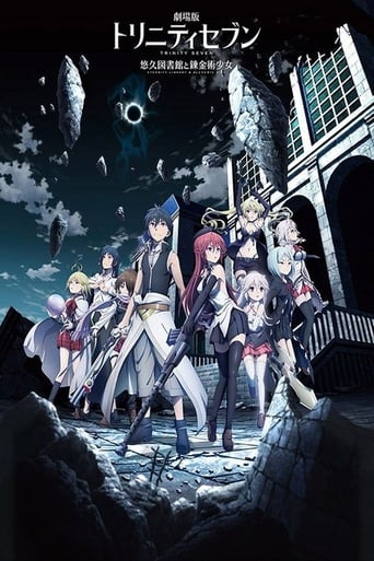 poster of Trinity Seven: Eternity Library & Alchemic Girl