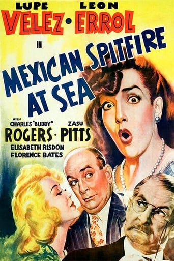 Poster of Mexican Spitfire at Sea