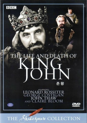 Poster of The Life and Death of King John