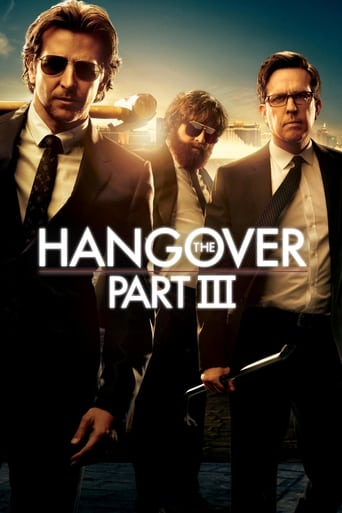 Official movie poster for The Hangover Part III (2013)