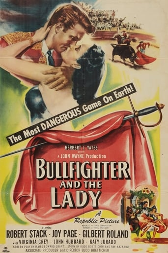 Poster of Bullfighter and the Lady