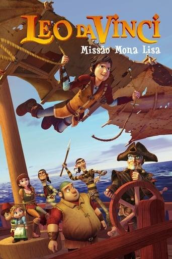 Leo Da Vinci Missão Mona Lisa - Poster
