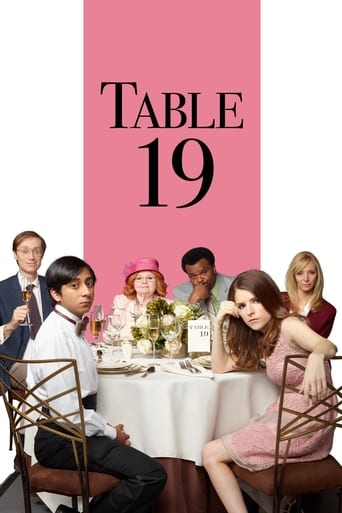Official movie poster for Table 19 (2017)