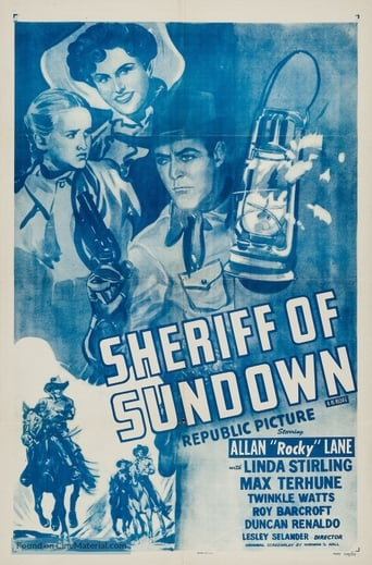 Poster of Sheriff of Sundown