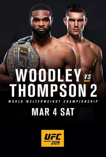 Poster of UFC 209: Woodley vs. Thompson 2