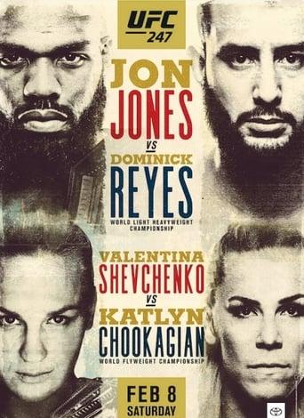 Poster of UFC 247: Jones vs. Reyes