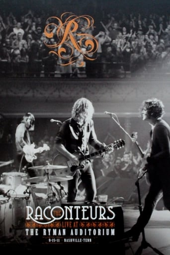 Poster of The Raconteurs: Live at the Ryman Auditorium