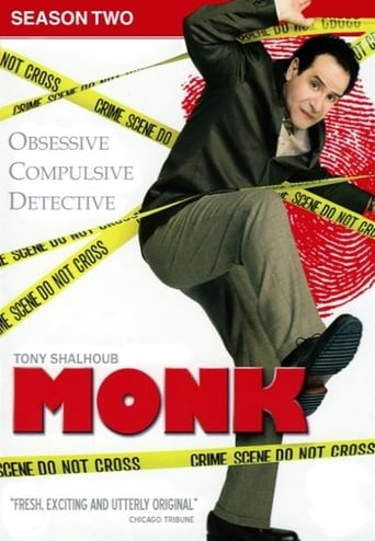 Detektyvas Monkas / Monk (2003) 2 Sezonas