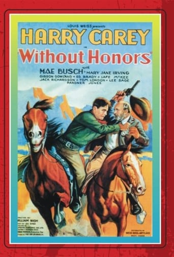 Poster of Without Honors