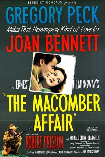 Poster of The Macomber Affair