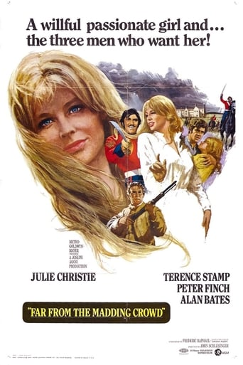 Far from the Madding Crowd (1967) - poster