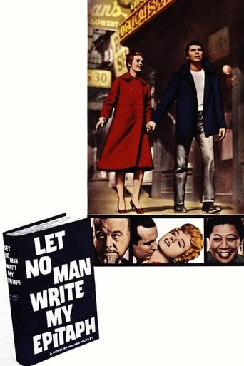 Poster of Let No Man Write My Epitaph