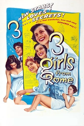 Poster of Three Girls from Rome