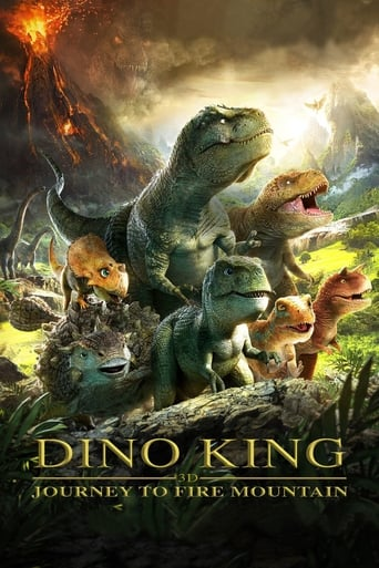 Dino King 3D: Journey to Fire Mountain Poster