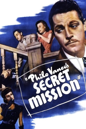 Poster of Philo Vance's Secret Mission
