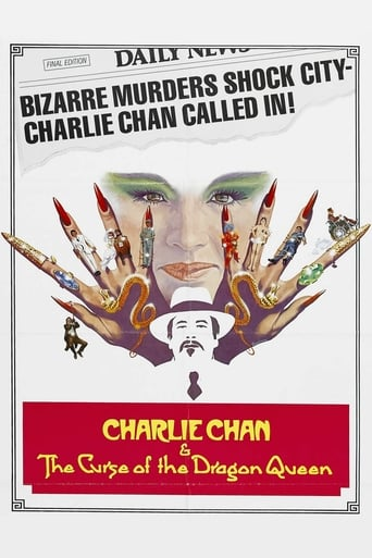 Charlie Chan and the Curse of the Dragon Queen (1981) - poster