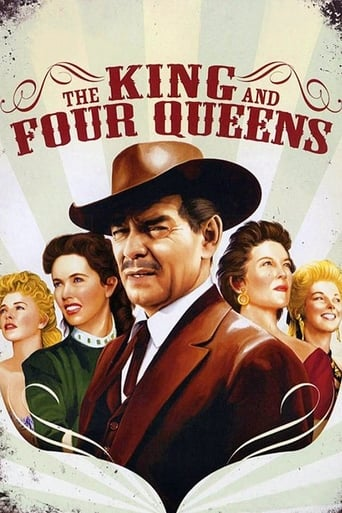 Poster of The King and Four Queens