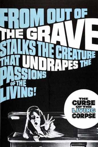 Poster of The Curse of the Living Corpse
