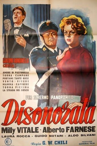 Poster of Disonorata - Senza colpa