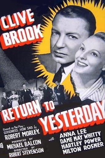 Poster of Return to Yesterday