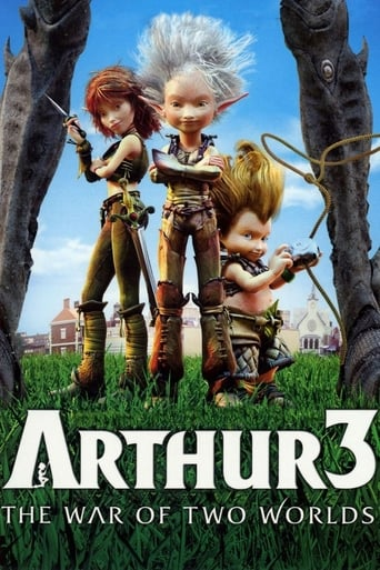 Poster of Arthur 3: The War of the Two Worlds