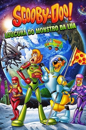 Scooby-Doo: Loucura do Monstro da Lua - Poster